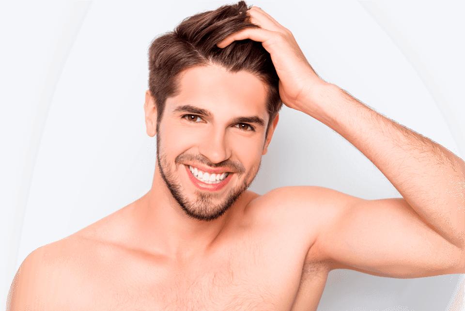 Slide Shampoo capilar modelo - Hombre 960