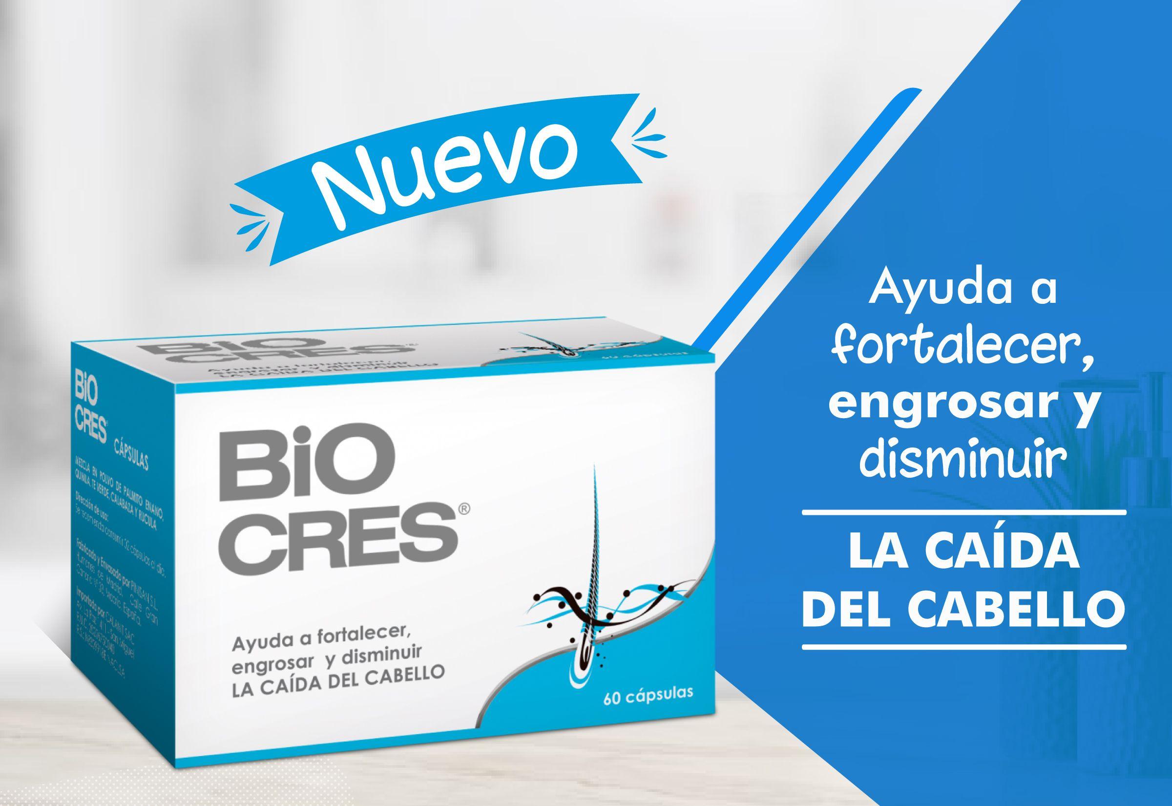 Nuevo Lanzamiento: Conoce los ingredientes naturales  de Biocres Cápsulas